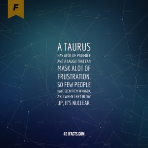 facts about taurus 10