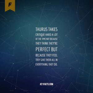 facts about taurus 12