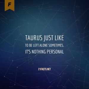 facts about taurus 2