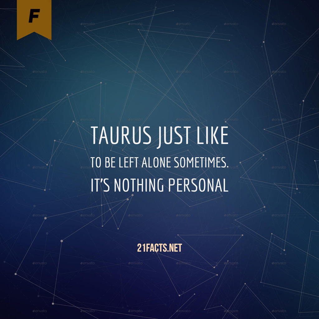 Interesting Facts about Taurus sign - TwentyOneFacts
