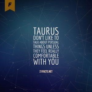 facts about taurus 4
