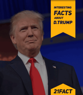 Interesting facts about Donald Trump
