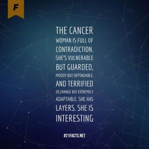 Interesting Facts about Cancer Woman
