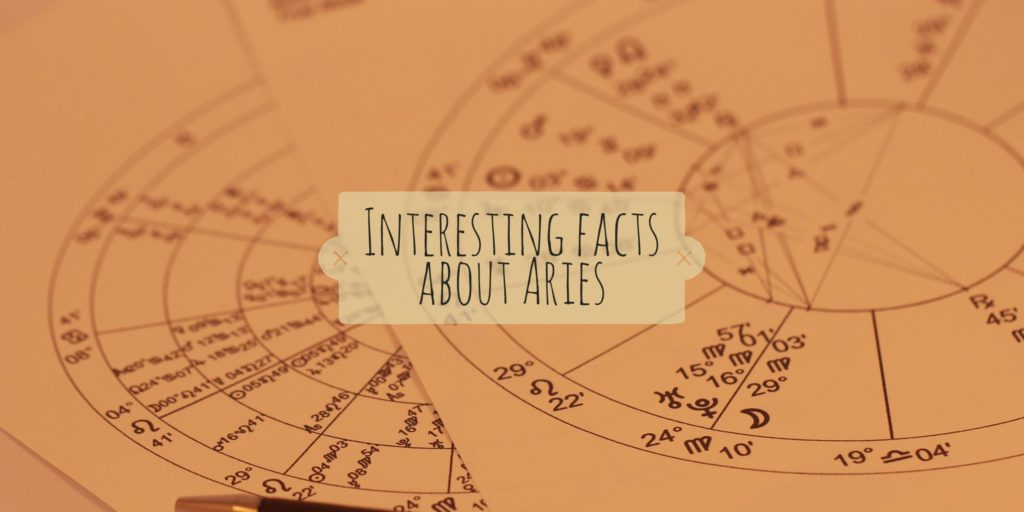 Interesting facts about Aries zodiac by 21facts net