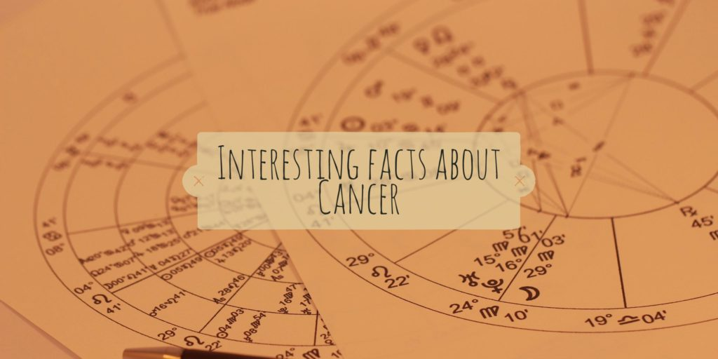 Interesting facts about Cancer Zodiac - TwentyOneFacts