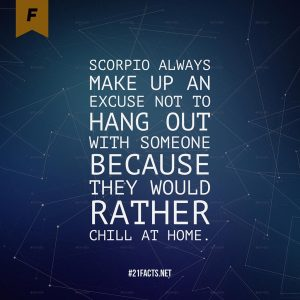 facts about scorpio 10
