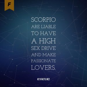 facts about scorpio 5