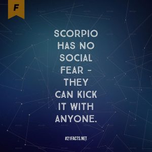 facts about scorpio 6