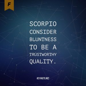 facts about scorpio 9